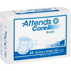 Attends Care Briefs Heavy Absorbency