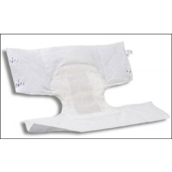 Attends Confidence Tab Closure Incontinent Brief Moderate Absorbency X-Large - CBC20