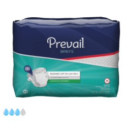 Prevail Adult Briefs Heavy Absorbency