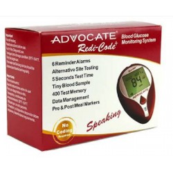Advocate Redi-Code Plus Speaking Meter Blood Glucose Meter - BMB001-S