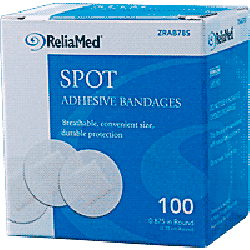 Sheer Spot Plastic Adhesive Bandage by ReliaMed