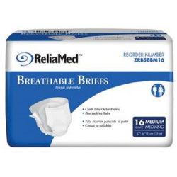 Basic Breathable Briefs Moderate Absorbency