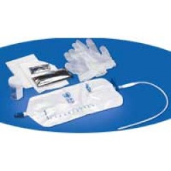 Rochester Medical Personal TOUCHLESS Catheter with Urethral Tray