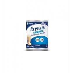 Ensure Original Therapeutic Nutrition Shake, Strawberry 8 oz. Can Institutional 8 oz. - 50648