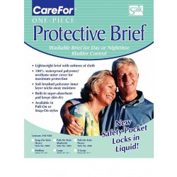CareFor Reusable Briefs Moderate Absorbency