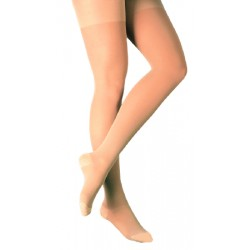 Thigh-High Compression Stockings, Closed Toe