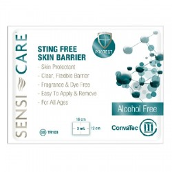 Sensi-Care Sting Free Protective Skin Barrier Wipes - 413501