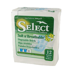 Tranquility Select Soft n' Breathable Briefs - Heavy Absorbency