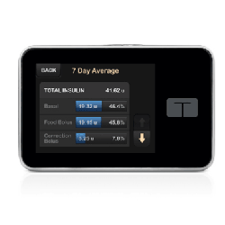 Tandem T Slim Insulin Pump