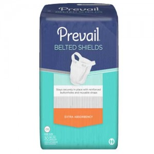 Prevail Non-Adjustable Belted Shields Light Absorbency